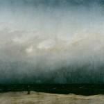 """Restaurierte Version """"Der Mönch am Meer"""" von Caspar David Friedrich (1808 - 1810)"""
