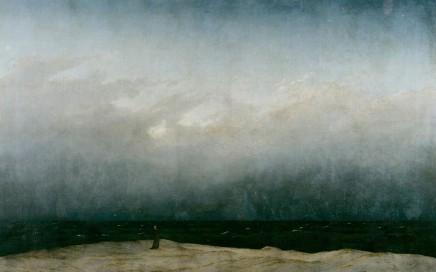 Der Mönch am Meer Caspar David Friedrich (1808 - 1810)