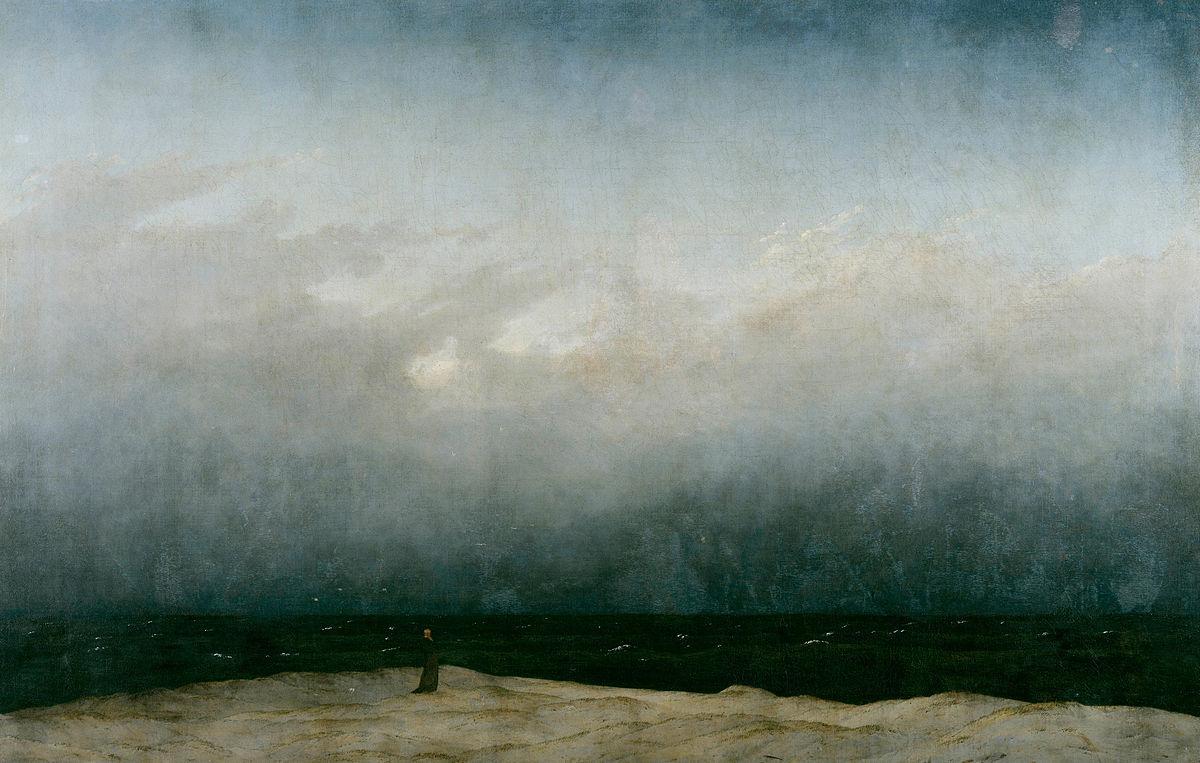 Der Mönch am Meer Caspar David Friedrich, 1808–-1810