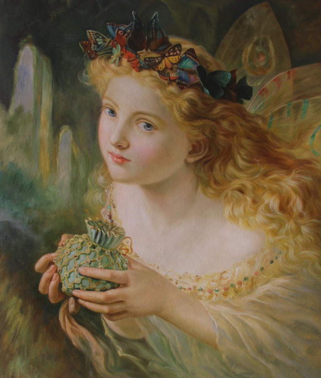 A portrait of a fairy (1869)