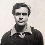 Passfoto von Amedeo Modigliani 1918