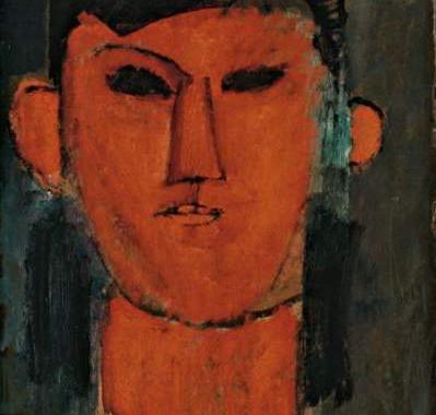 Portrait von Picasso von Amedeo Modigliani