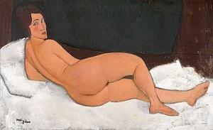 Amedeo Modigliani - Liegender Akt