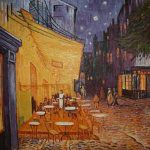 Caféterrasse bei Nacht von Vincent van Gogh (Original von 1888)