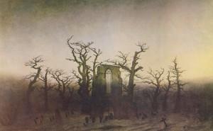 Caspar David Friedrich - Abtei im Eichwald (1808 und 1810)