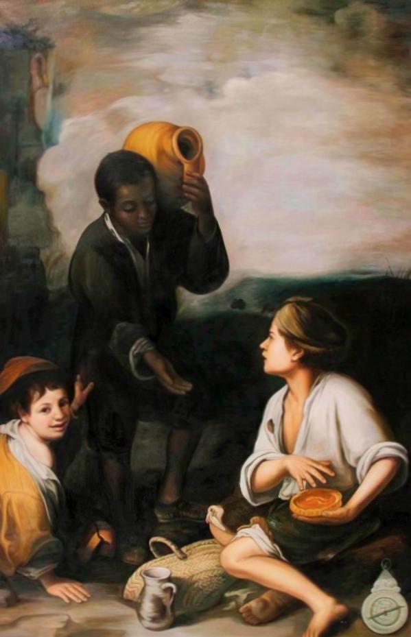 Bartolomé Esteban Murillo - Drei Buben