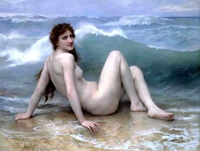 The Wave (1896) - William-Adolphe Bouguereau
