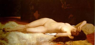 La Reveil (ca. 1870) - Alfonse Eugene Felix LeCadre