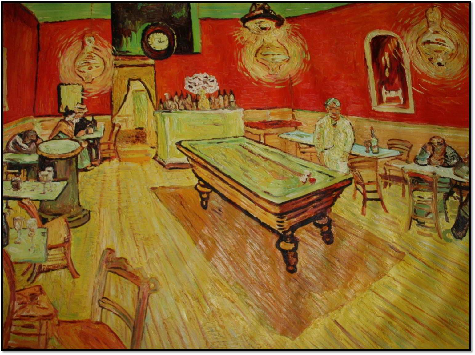 Das Nachtcafé Van Gogh 1888