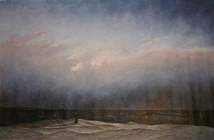 Der Moench am Meer - Casper David Friedrich