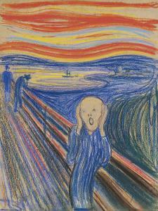 Der Schrei von Edward Munch (1895)