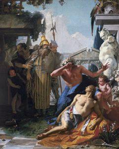 Der Tod des Hyacinth - Giovanni Battista Tiepolo