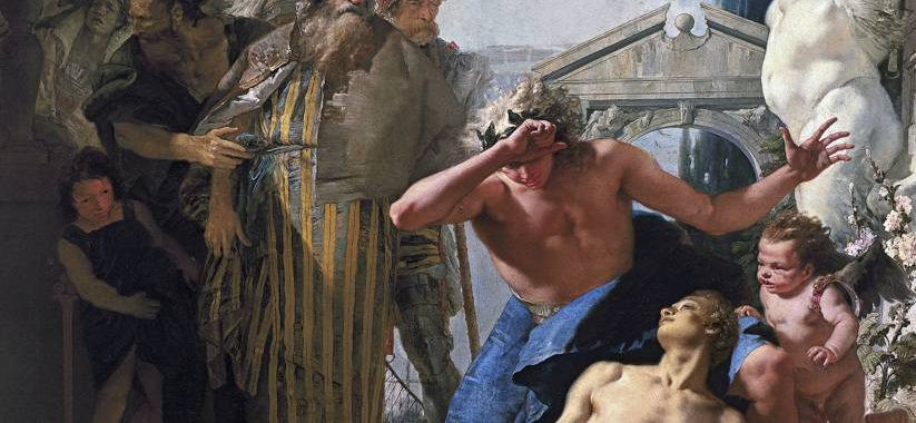 Der Tod des Hyacinth - Giovanni Battista Tiepolo (1752)