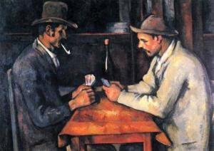 Kartenspieler Paul Cezanne