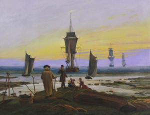 Die Lebensstufen von Caspar David Friedrich als Auftragsmalerei