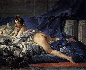 L'Odalisque Brune von François Boucher