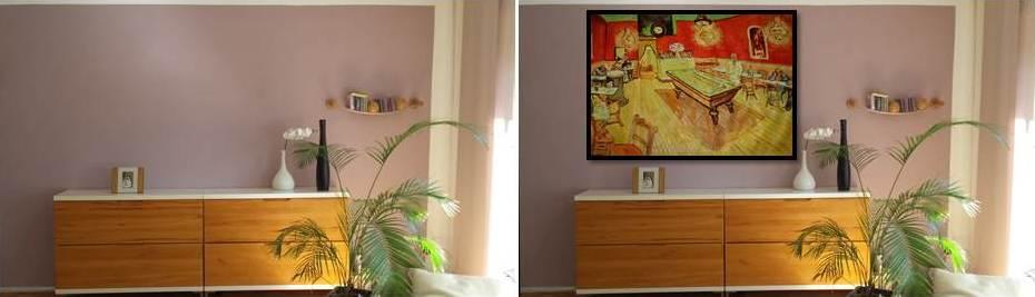 Home Staging Beispiel Van Gogh