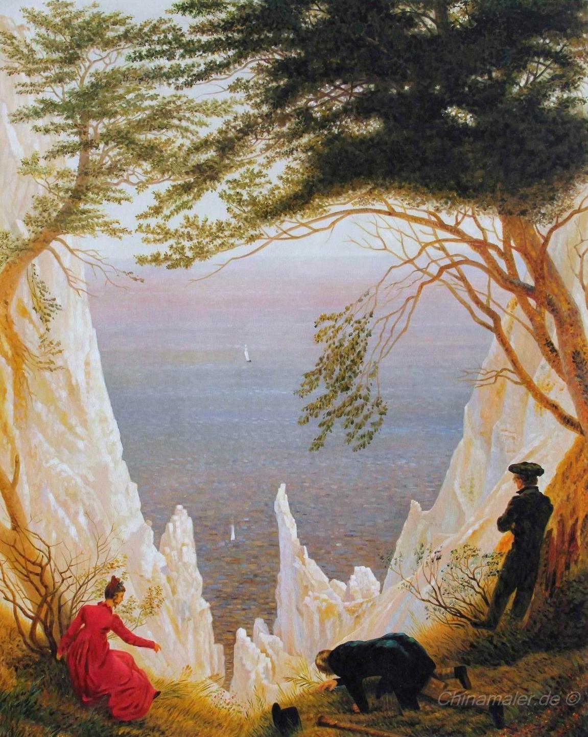 reidefelsen auf Rügen- Caspar David Friedrich von1818