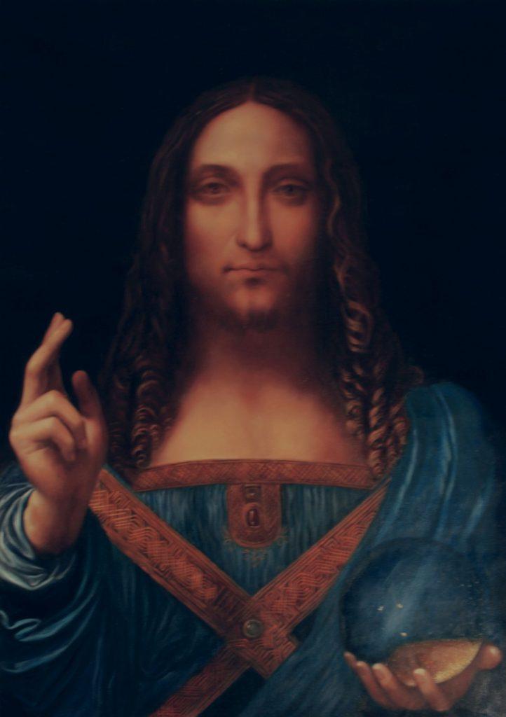 Salvator Mundi Reproduktion von Chinamaler
