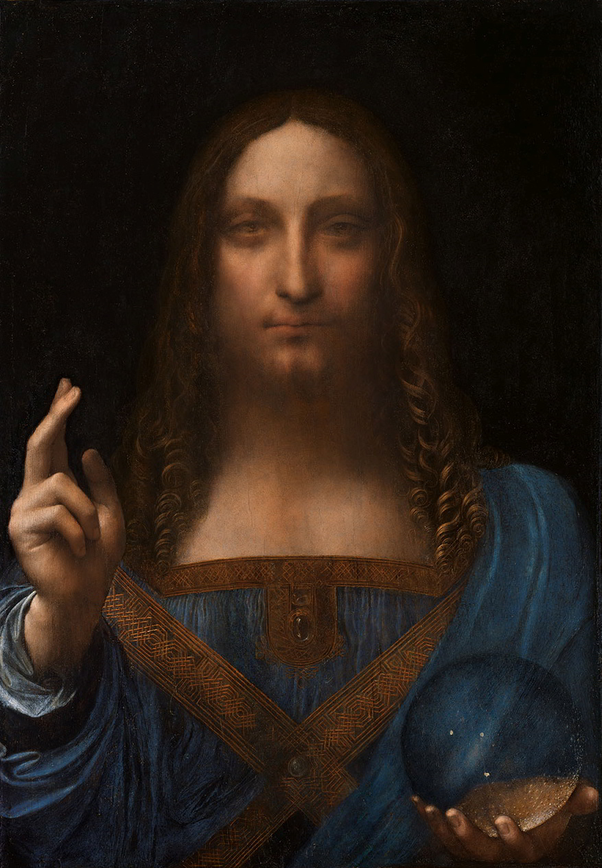 Leonardo da Vinci - Salvator_Mundi