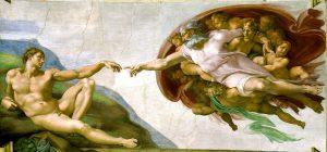 Michelangelo - Die Erschaffung Adams von 1511