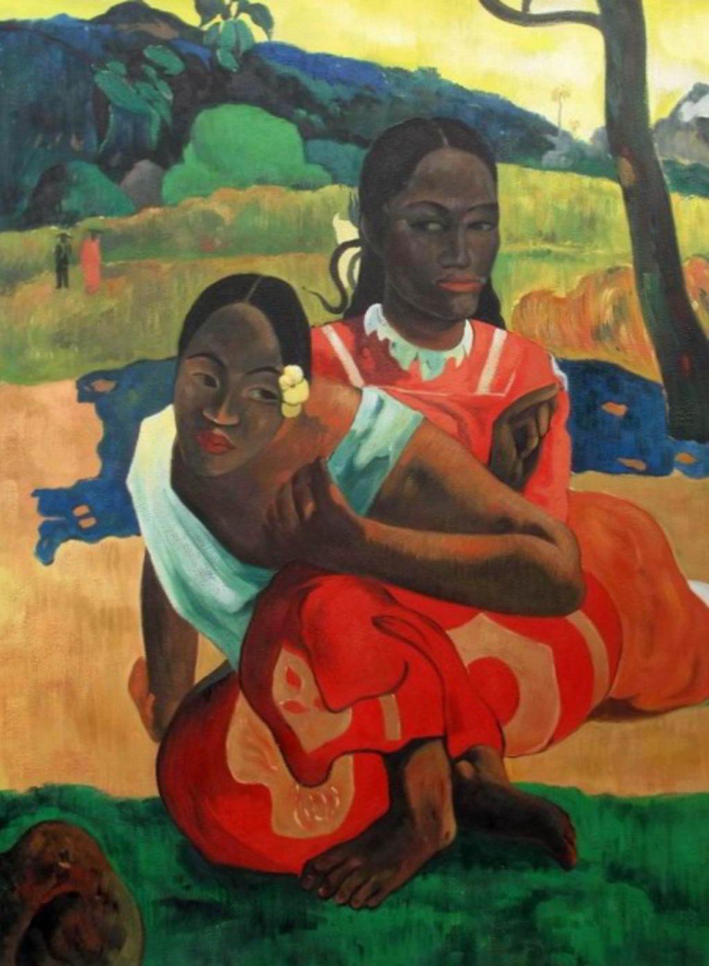 Paul Gauguin - Wann heiratest Du (1892) - Reproduktion