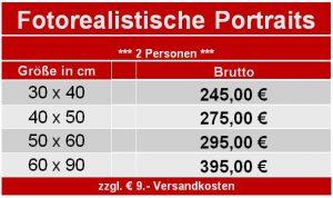 Preise für Portraitmalerei