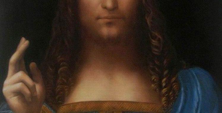 Savator Muni - Leonardo da Vinici Kopie