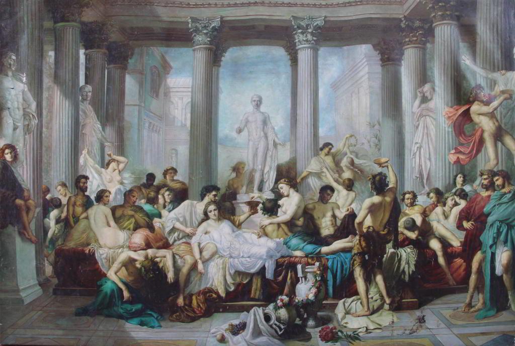 Thomas Couture - Romains de la décadence1847