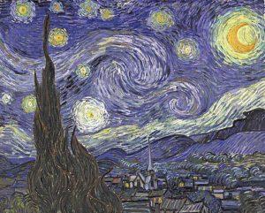 Van Goghs Sternennacht von 1889