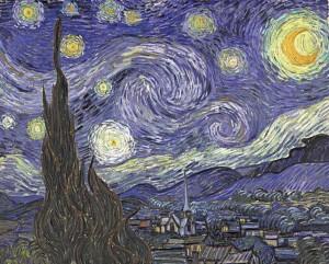 Reproduktion Sternennacht Van Gogh