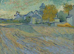 Vincent van Gogh - Vue de l'asile et de la Cha